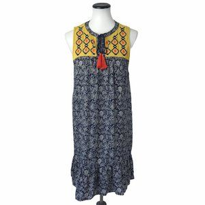 THML Shift Paisley Embroidered Dress #159